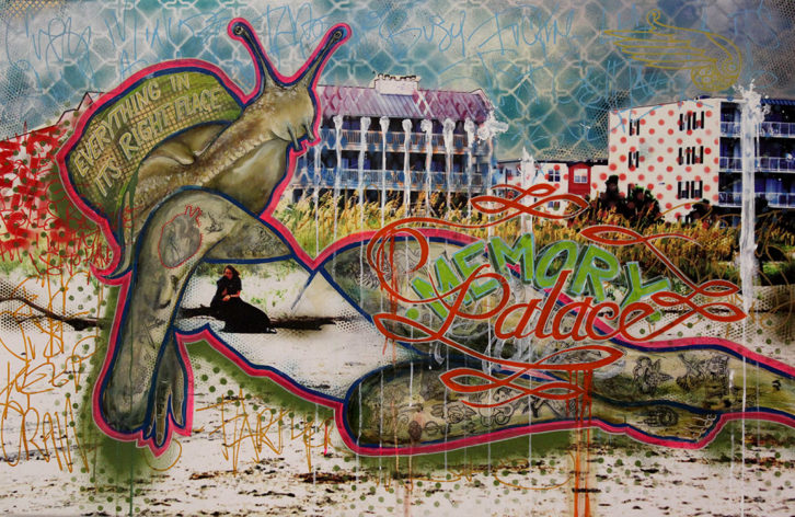 Obra de Kaylee Bear y Marco Biscardi. Imagen cortesía de Imprevisual.