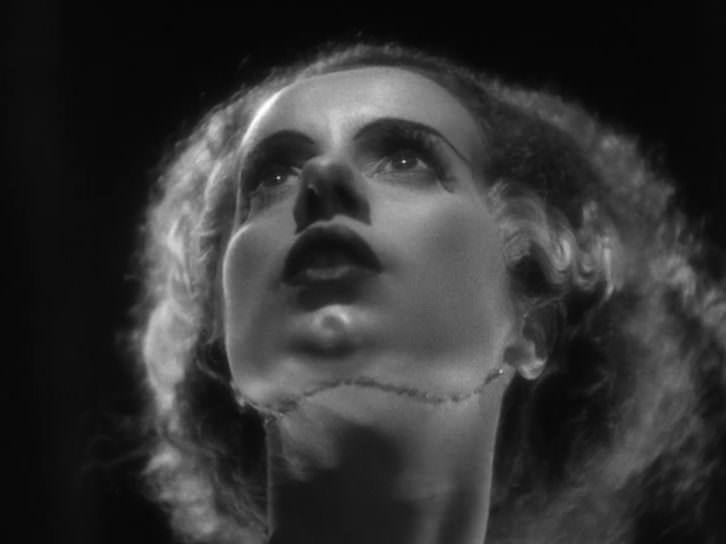 Fotograma de 'La novia de Frankenstein', de James Whale.