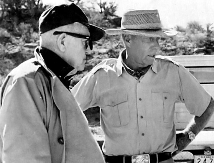 John Ford y Howard Hawks.