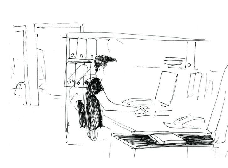 Ilustración de Carlos Maiques. Imagen cortesía del IVAM.