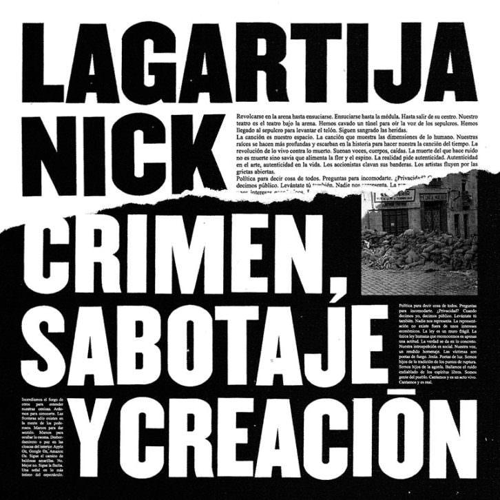 Lagartija-Nick-portada nuevo disco