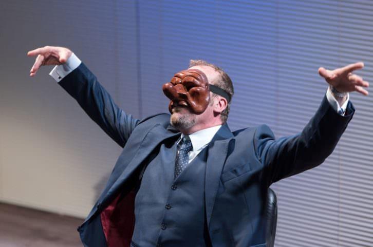 Fernando Cayo en 'El príncipe de Maquiavelo'. Teatro Talía.