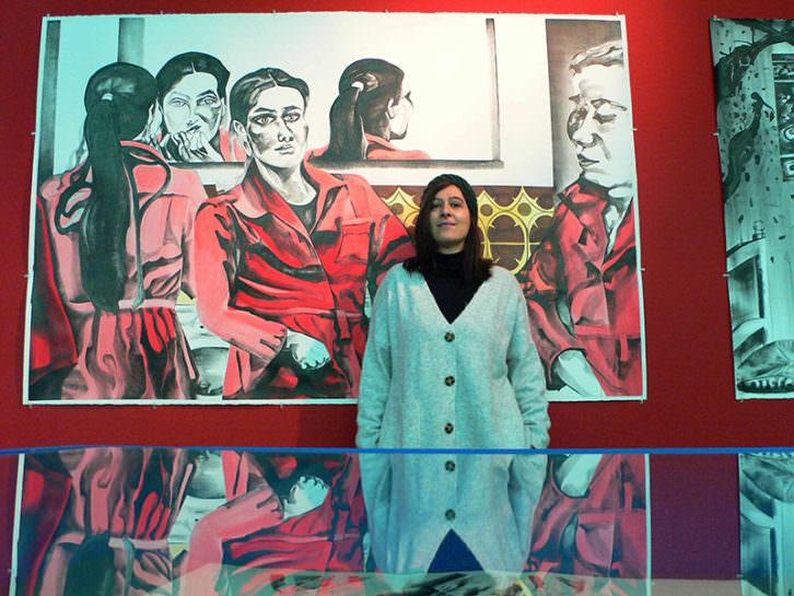 Marta Beltrán. Fotografía de Vicente Chambó.