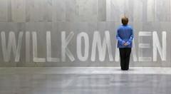 Willkommen Merkel. Imagen cortesía de Teatre El Musical
