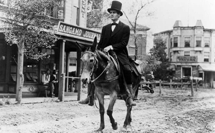 Fotograma de 'El joven Lincoln', de John Ford.