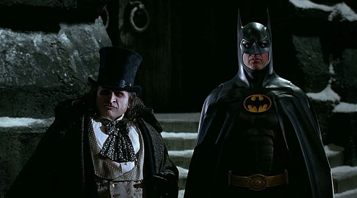 Fotograma de 'Batman Vuelve'. Colegio Mayor Rector Peset