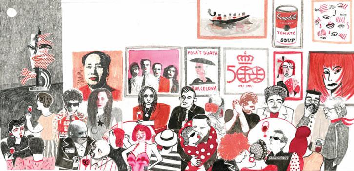 Ilustración de Ana Penyas. Imagen cortesía de la autora.