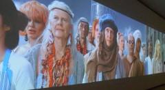 Obra del colectivo AES+F en la exposición 'Please, come back. ¿El mundo como prisión? en el IVAM.