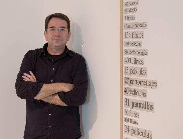 Ignasi Aballí. Imagen cortesía del IVAM.