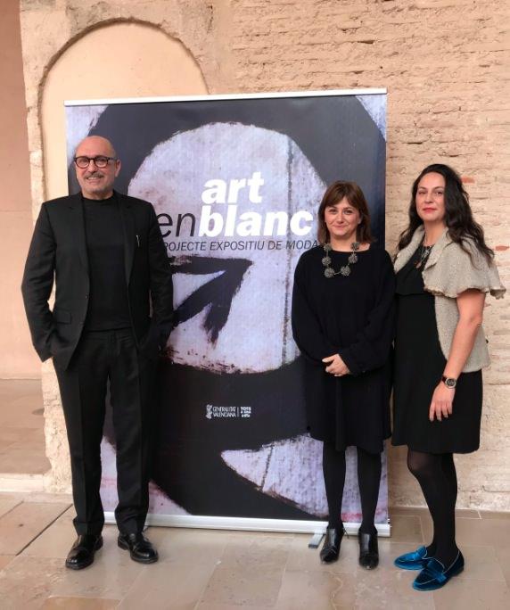 De izda a dcha, Josep Lozano, Carmen Amoraga y Sonia Vilar. Imagen cortesía del Centre del Carme.