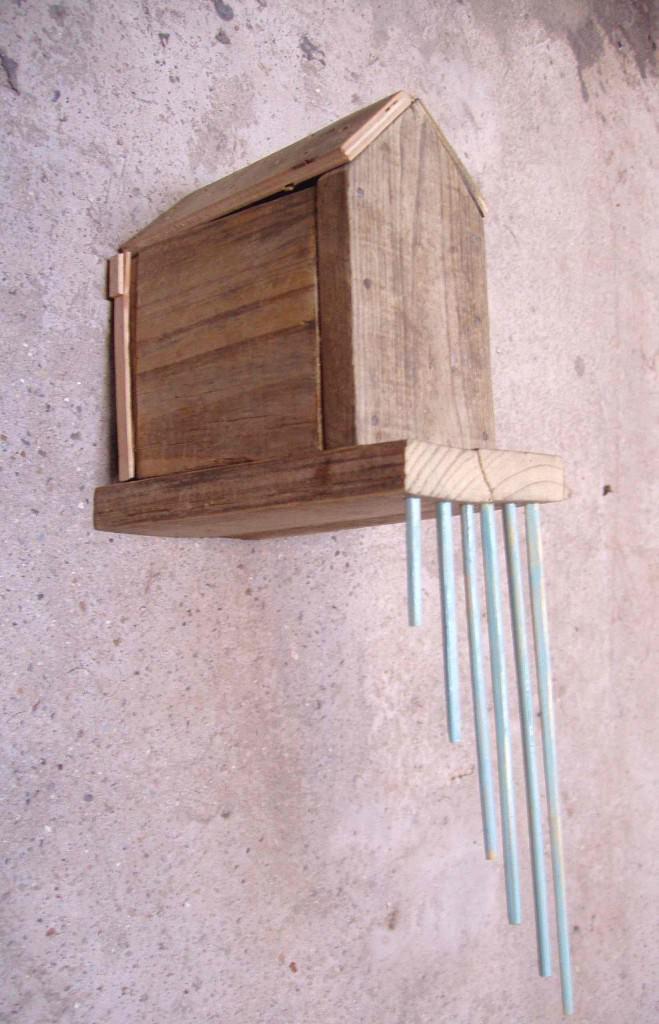 Imagen de la obra 'Casa de la lluvia', de Iván Araujo. Fotografía cortesía de APPA art gallery.