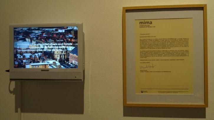 Vista de la exposición 'Creación y pueblo'. Imagen cortesía del Centre del Carme.