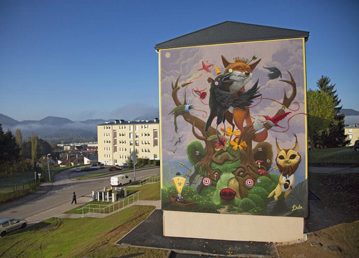 Mural de Dulk. Imagen cortesía del autor.