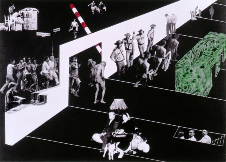 Obra de Rem Koolhaas en la exposición 'Please, come back. ¿El mundo como prisión? Imagen cortesía del IVAM.