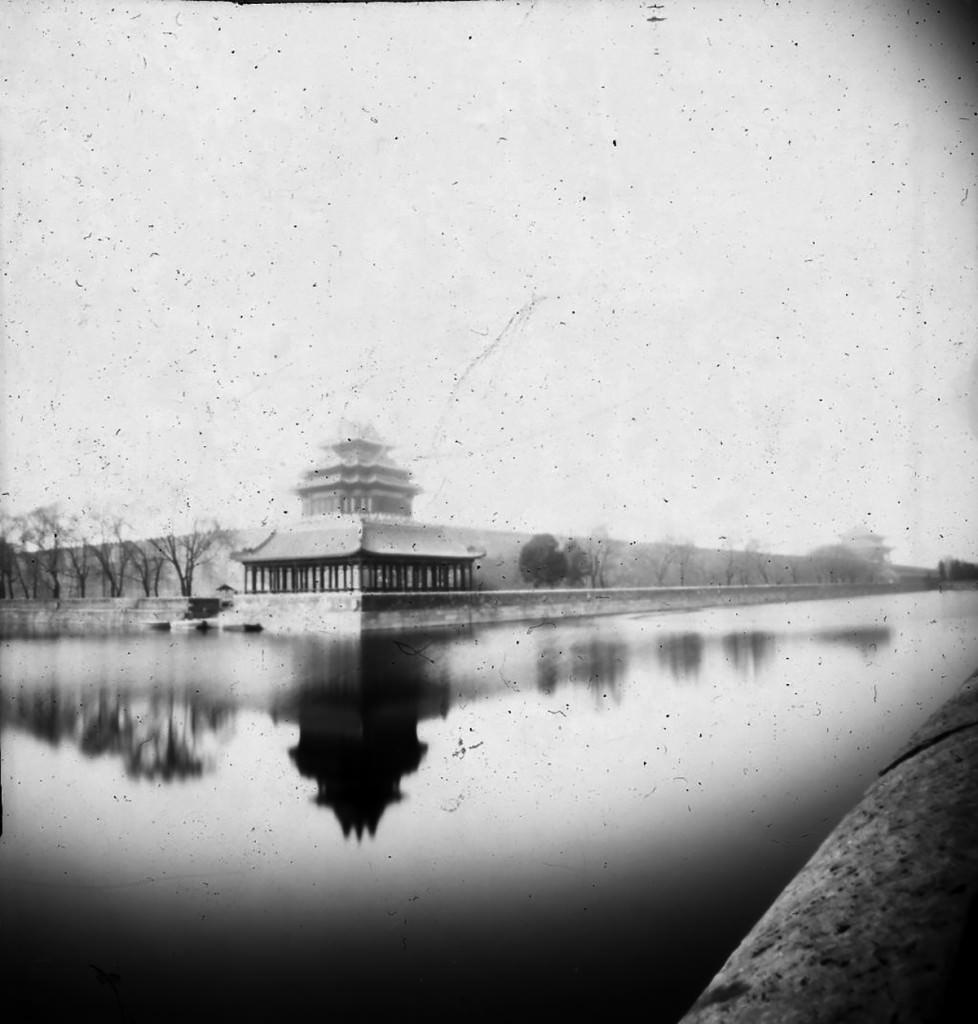 Imagen de la obra 'Pekin. Ciudad Prohibida', de Fotolateras, que forma parte de la nómina de artistas del Museo del Ruso de Alarcón. Fotografía cortesía del Museo.