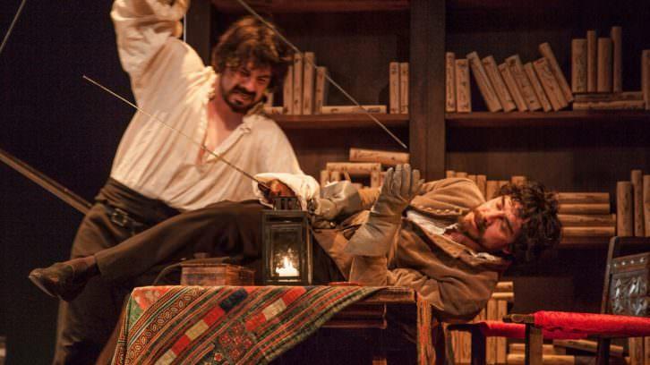 La estancia, de Chema Cardeña, en el Teatro Rialto. Imagen cortesía del IVC.