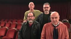 De izda a dcha y de arriba abajo, Gerardo Esteve, Roberto García, Paco Zarzoso y Chema Cardeña. Imagen cortesía del IVC.