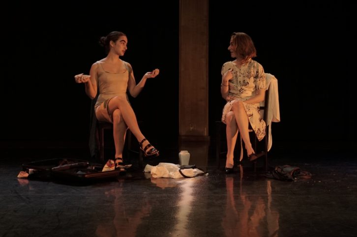 Escena de 'Mucha mierda'. Imagen cortesía de Sala Russafa.