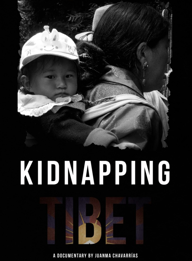 Cartel de 'Secuestrando el Tíbet', de Jaime Chavarrías. Humans Fest.