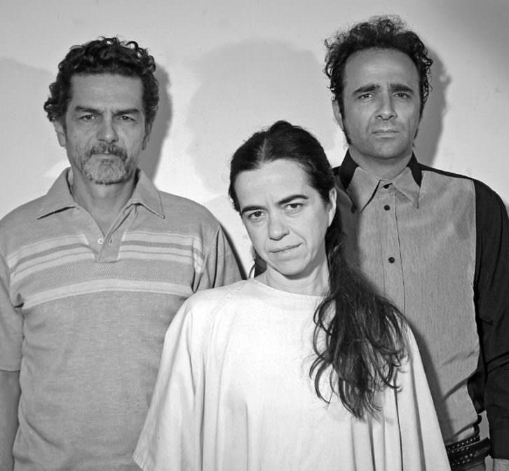Carles Sanjaime, María Cárdenas y Xavo Giménez. Imagen cortesía de La Teta Calva.