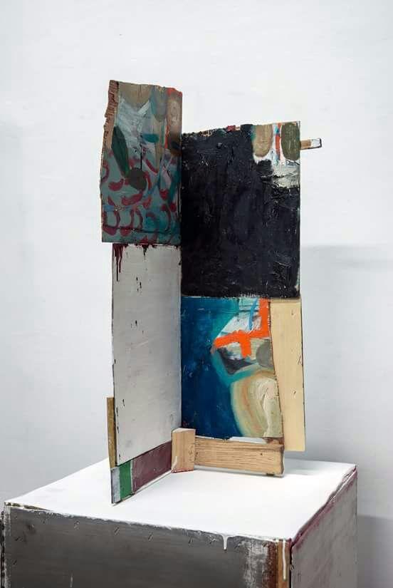 Imagen de una de las obras del artista Jorge Carla, presente en la exposición 'Gráfica Estructural'. Fotografía cortesía de los organizadores.