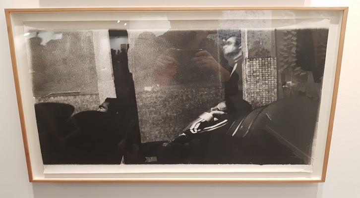 «Serie Faenza» Miguel Ángel Rojas, 1980. Impresión digital, políptico de 6 fotografías enmarcadas. 80 x 123 cm