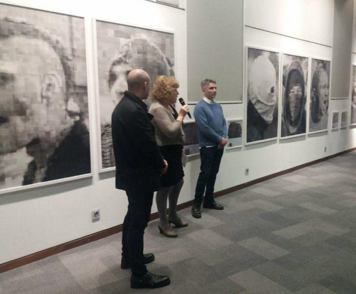 Presentación de la muestra 'Principia', de Roberto López. Imagen cortesía de Casa Bardín.