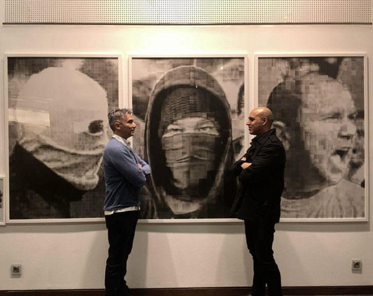 Antonio Barroso (izda) y Roberto López. Imagen cortesía del autor.
