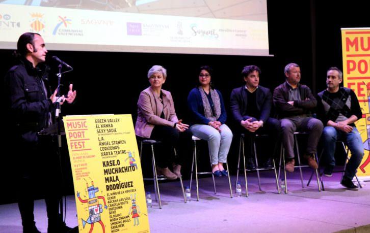 Presentación de Music Port Fest. Imagen cortesía de la organización.