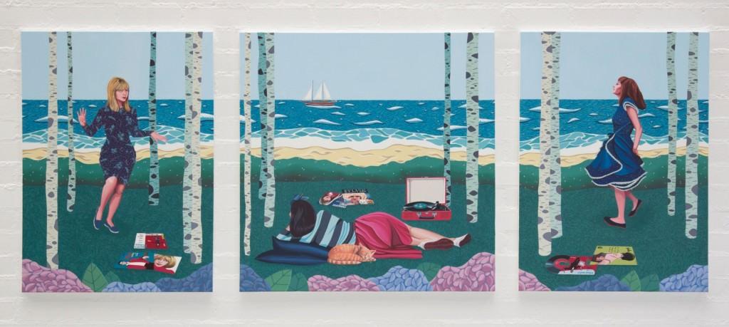 Soñar el verano, de Helena Toraño. Imagen cortesía de Art Mustang.