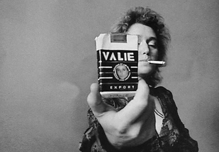 Valie Export. Imagen cortesía de Filmoteca de Valencia.