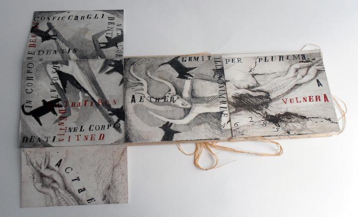 Imagen: Cortesía de la comisaria Gema Navarro Goig. Fotografía de la obra de Francesca Genna, titulada ' ACTEÓN'