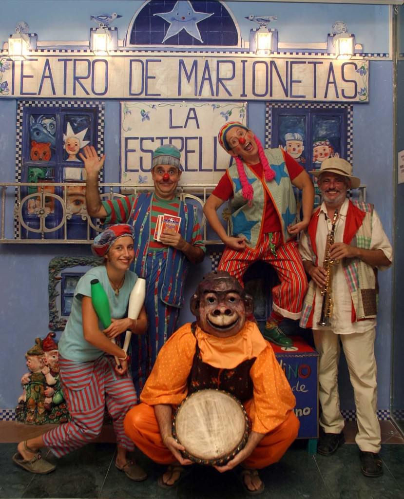Teatro de Marionetas la Estrella. Imagen cortesía de la Estrella.