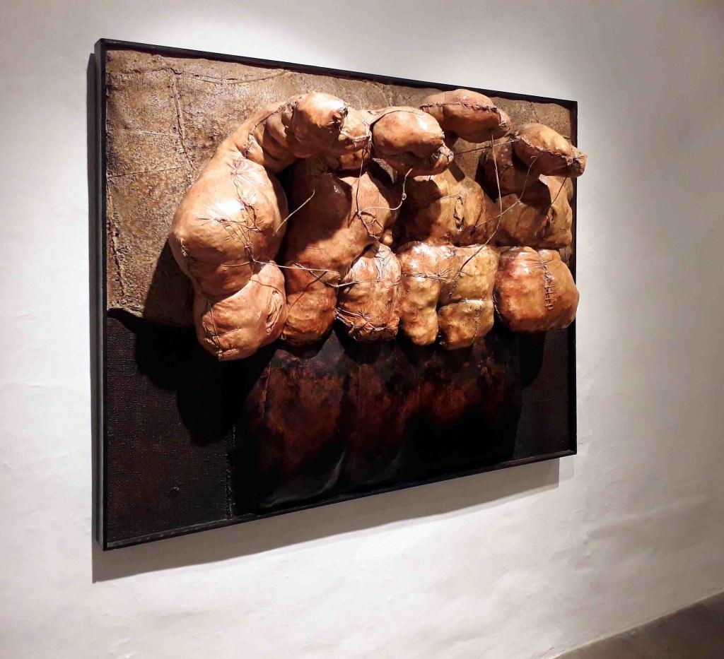 Imagen de una de las obras perteneciente a la serie 'Los espacios inaccesibles', de Ernesto Valcárcel. Fotografía cortesía de Galería de Arte Artizar.
