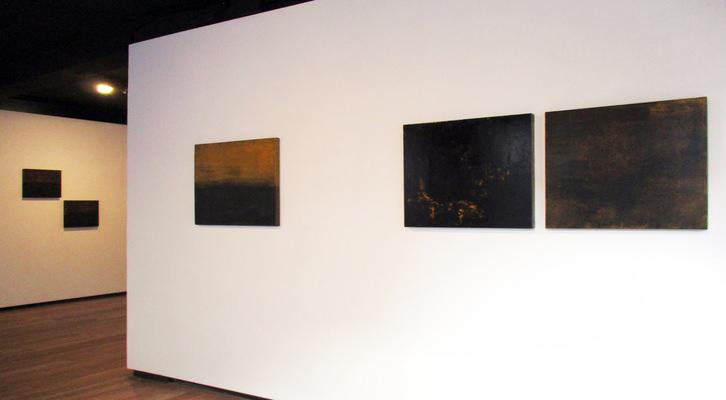 Obras de Laureano Núñez. Fotografía de Asun Bonilla y cortesía de la galería Hygiene Centro de Operaciones Artísticas.