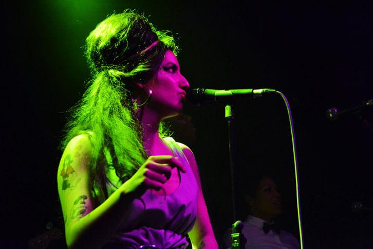 Tributo a Amy Winehouse en La3 Club. Fotografía: Lorena Riestra