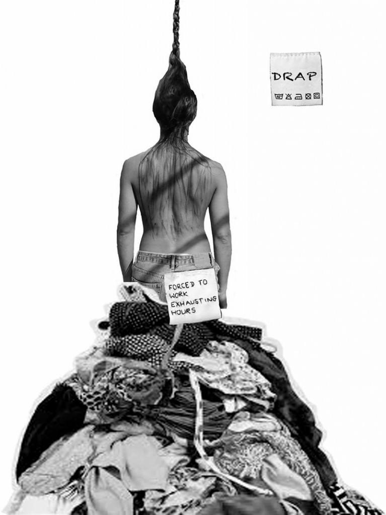 Cartel de 'Drap', de Mou Dansa. Imagen cortesía de la compañía.