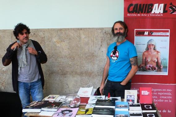 Algunos de los Stands del Festival del libro Sindokma 2017. Canibal. Fotografía de archivo, Vicente Chambó.