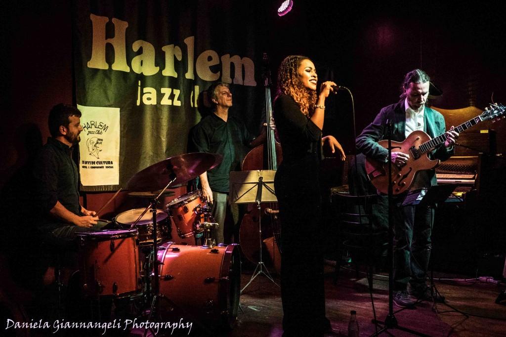 Instate de uno de los conciertos en el Harlem Jazz Club. Fotografía de Daniela Giannangeli.