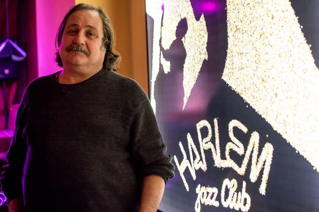Daniel Negro, director de Harlem Jazz Club. Fotografía de Manuel Pérez.