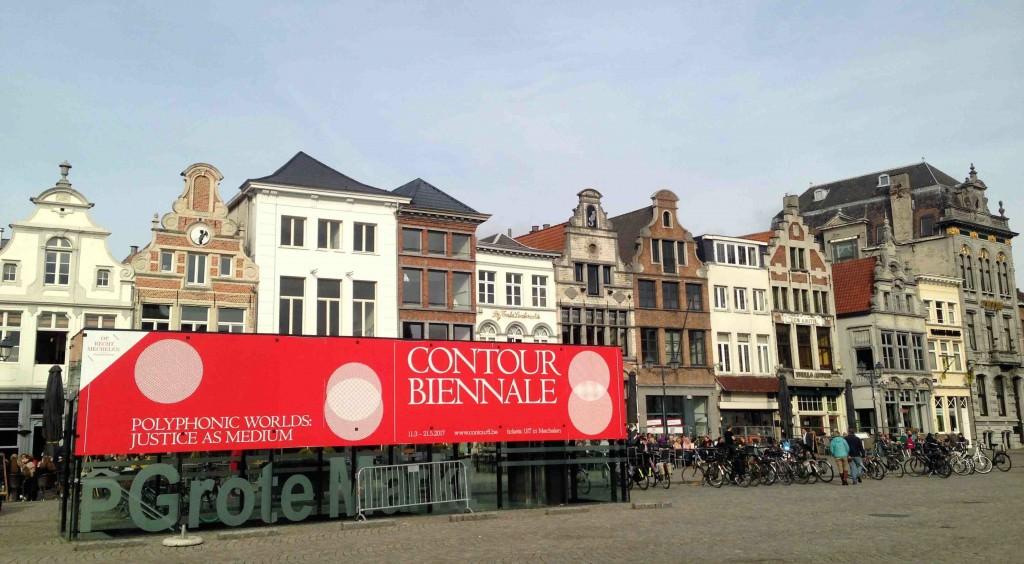 Contour Biennale 8 tiene lugar en la ciudad de Malinas (Bélgica) hasta el 21 de mayo de 2017. Fotografía: Merche Medina.