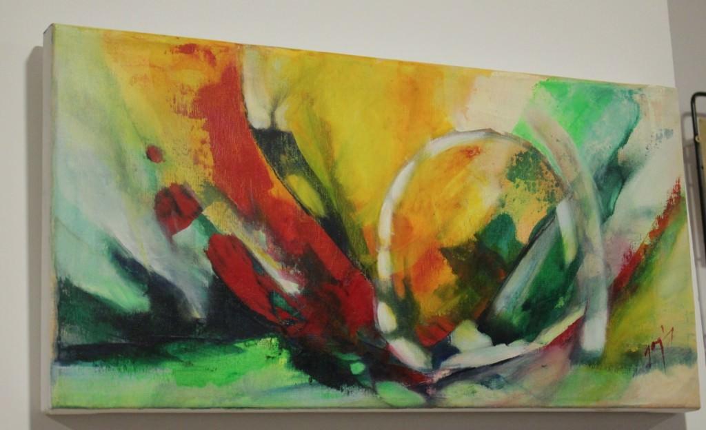 Obra de Cristina Jaquín. Fotografía de Néstor Navarro.