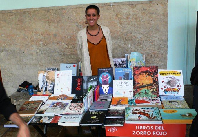 Algunos de los Stands del Festival del libro Sindokma 2017. Fotografía de archivo, Vicente Chambó.