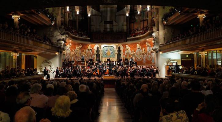 La Orquesta de València. Imagen cortesía del Palau de la Música.