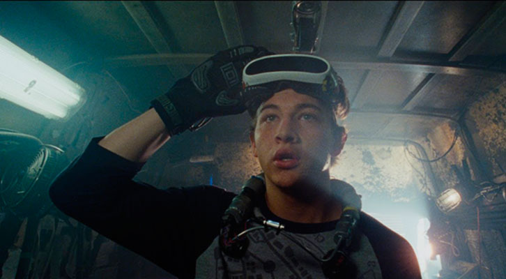 Fotograma de Ready Player One, de Steven Spielberg.