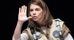 Isabelle Stoffel en 'En Tierra'. Imagen cortesía del IVC.