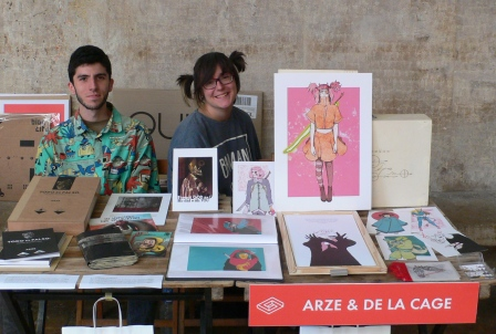 Algunos de los Stands del Festival del Libro Sindokma 2017. Arce de la Cage. Fotografía de Archivo, Vicente Chambó.