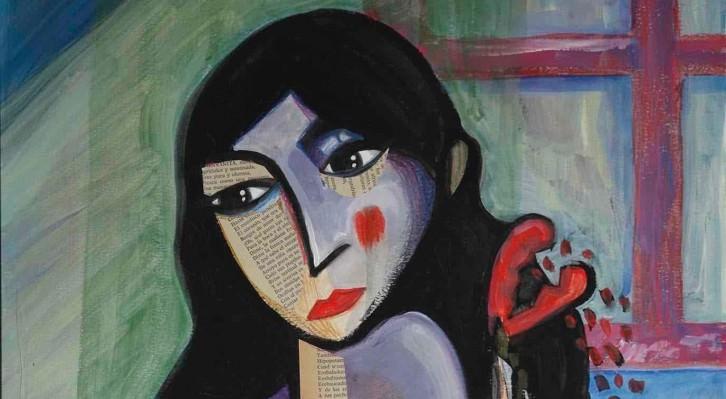 Imagen de una de las obras que forman parte de la exposición 'EXPOKOLO', del artista Kolo. Fotografía cortesía del autor.