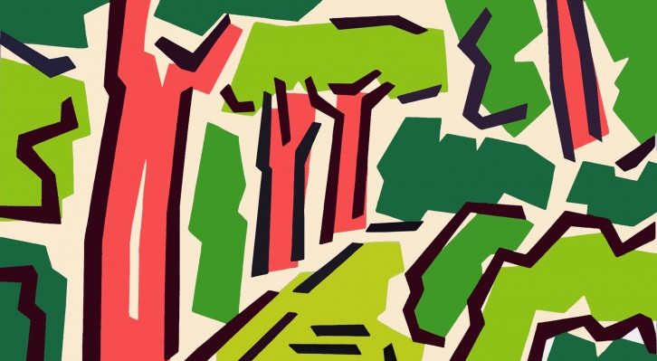 Detalle de la obra 'Serie Botánico III', de Rosa Torres. Fotografía cortesía de Shiras Galería.