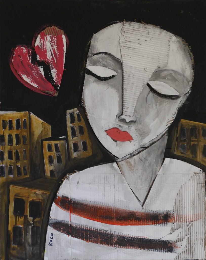 Imagen de una de las obras que forman parte de 'EXPO KOLO', del artista Kolo. Fotografía cortesía del artista.